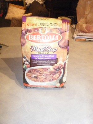 Bertolli Tuscan Style Beef & Vegetables Meal Soup
