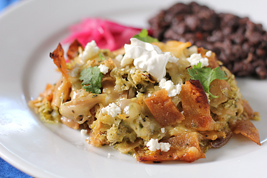with tomatillo salsa roasted tomatillo salsa verde vm0105 chilaquiles ...