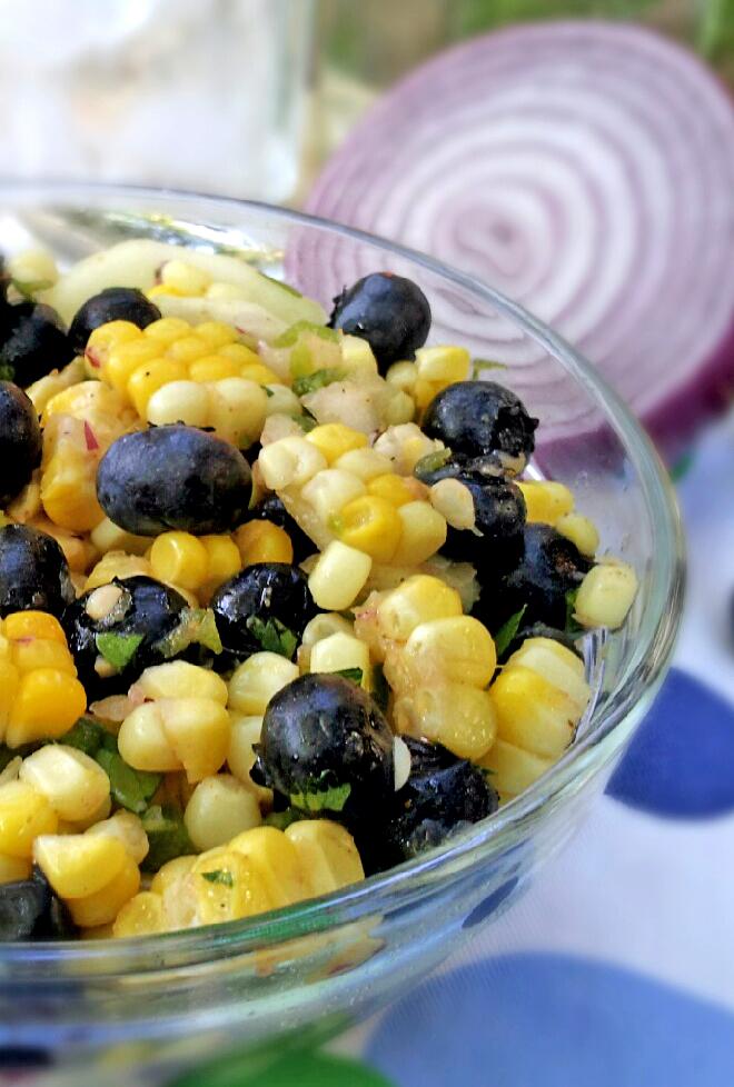 Blueberry Corn Salad Recipes — Dishmaps