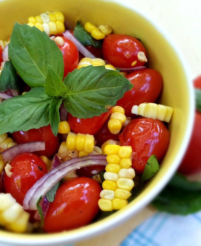 Tomato & Sweet Corn Salad