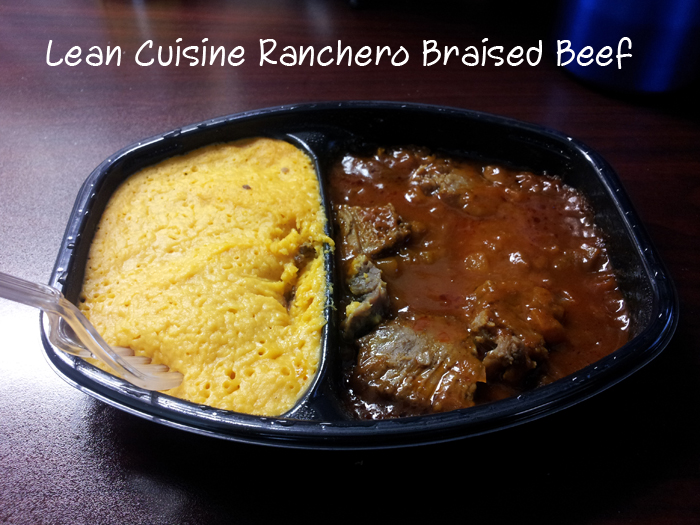 Chew review lean cuisine ranchero braised beef dining for Are lean cuisine meals good for weight loss