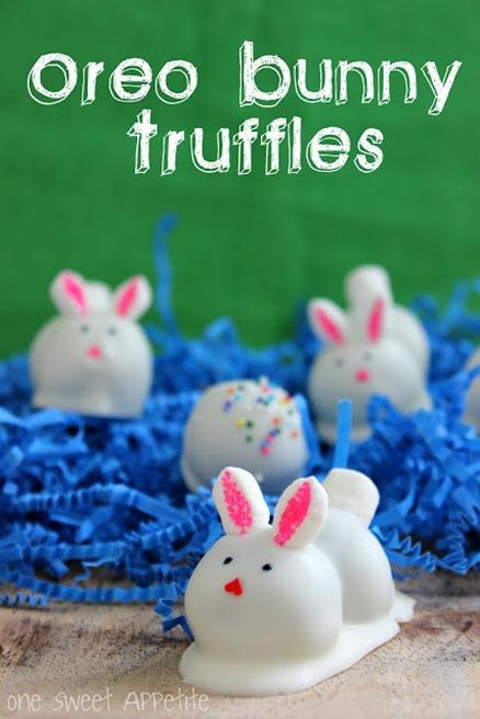 Oreo Truffles Easter Bunny