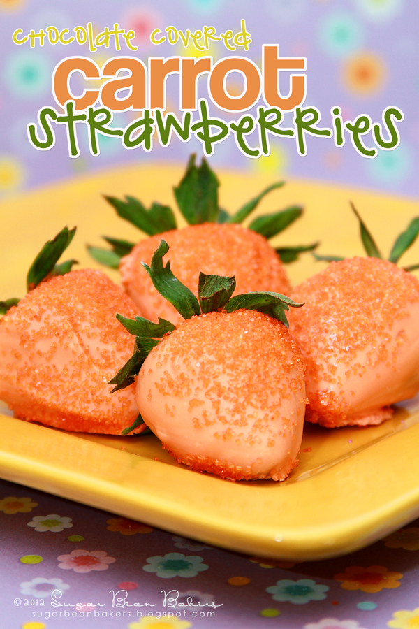 Easter Carrot Strawberries