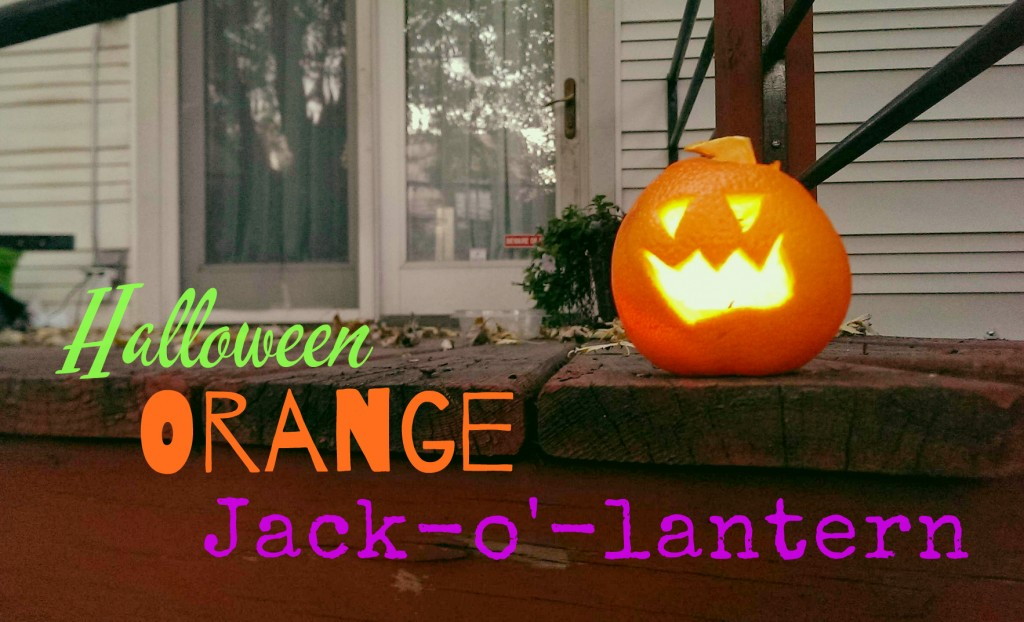 Orange Halloween Jack o' lantern