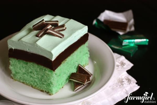Grasshopper Ice Box Cake