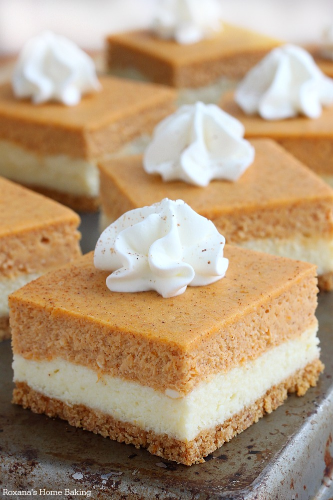 Recipe Of The Day Day 6 Pumpkin Cheesecake Bars